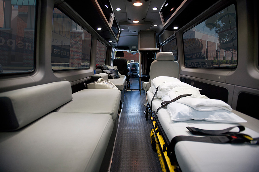 long distance medical transportation service